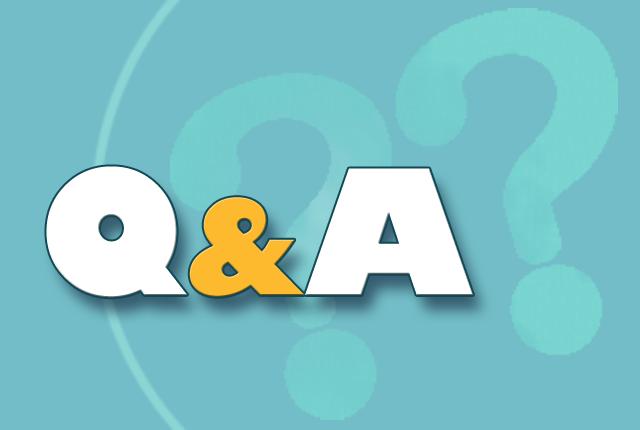 Q&A「年度末、落ち着かない…」