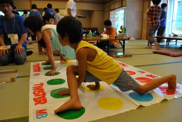 笑顔はじける、子ども交流合宿in福島