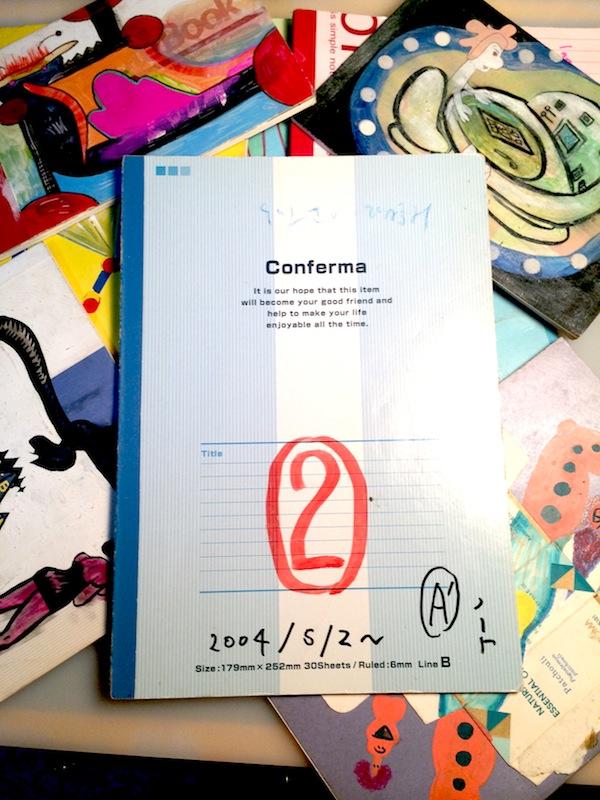 ロビン西の描き捨てノートマンガ2004‐2014 第1回