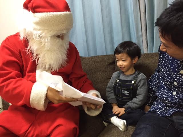 サンタさんが帰った後に、サンタごっこを永遠に…