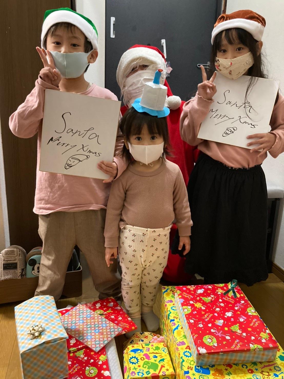 サンタはパパじゃない!家族の思い出がまたひとつ。