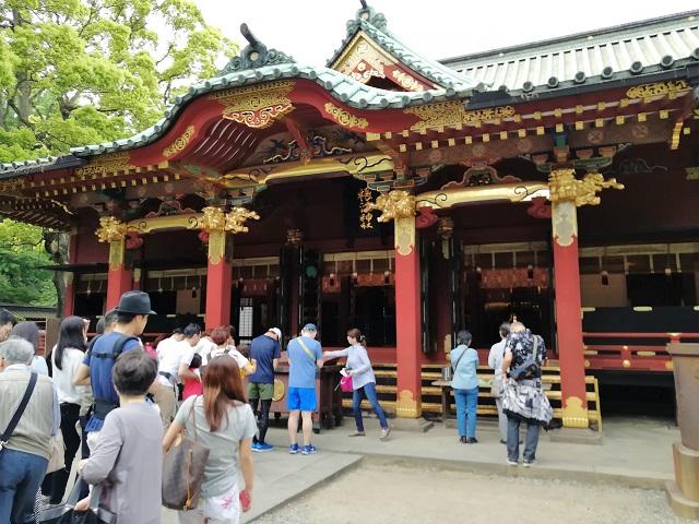 【気まぐれ寺社探訪】ツツジと千本鳥居で有名な根津神社