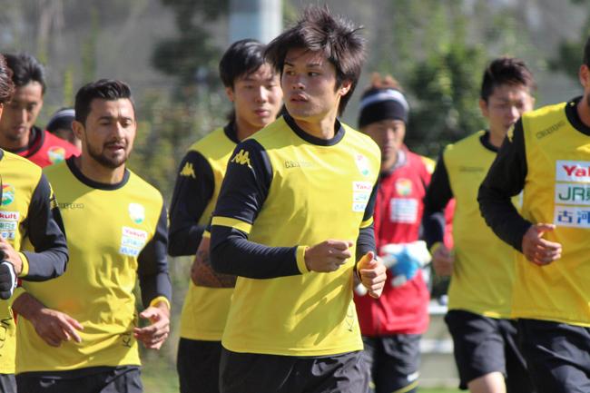 為田大貴選手「先制点を大事にして、最終節につながる試合をしたい」