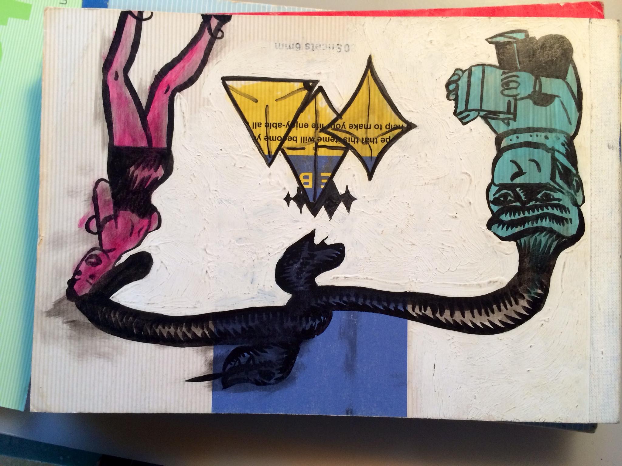 『ロビン西の描き捨てノートマンガ2004ー2014』第4回