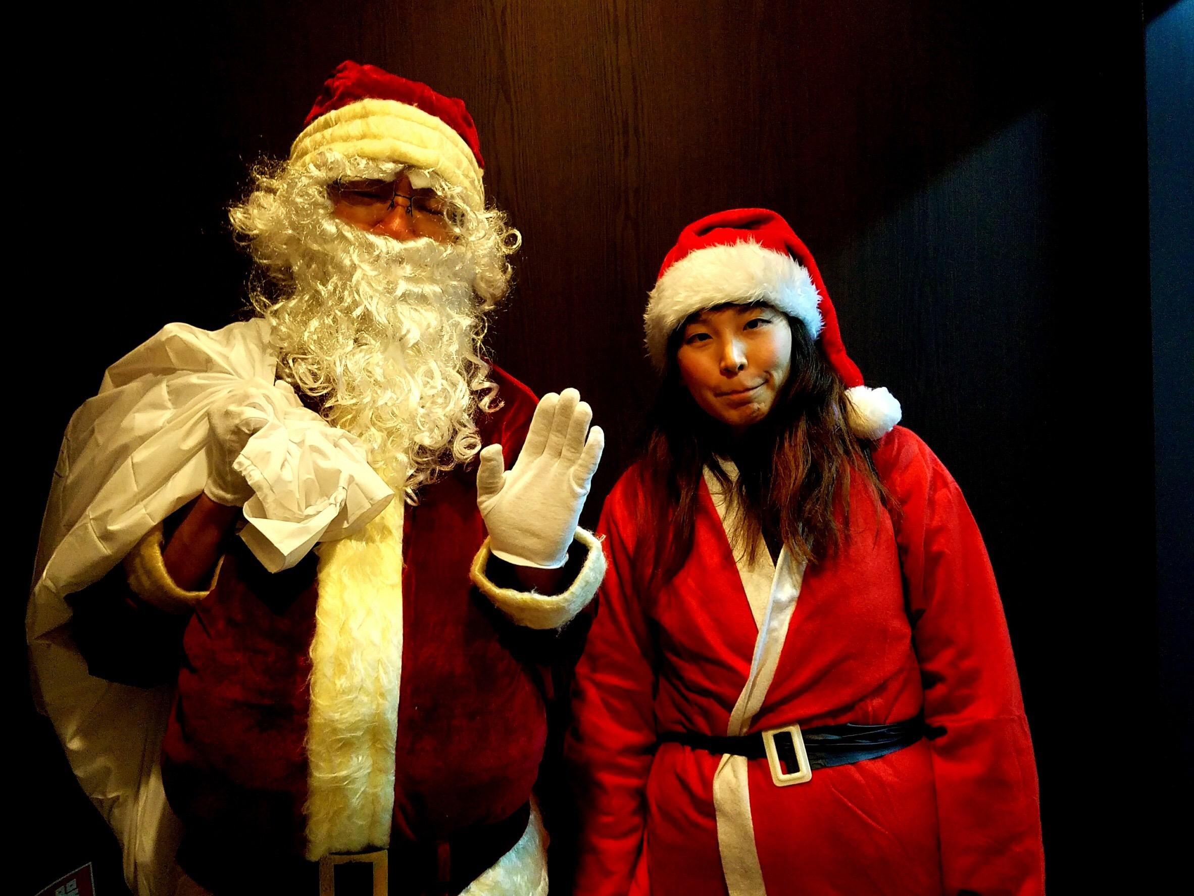 サンタって、夢のあるボランティア!