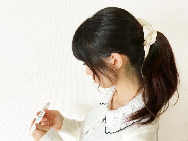 妊娠検査薬で陽性が出た時
