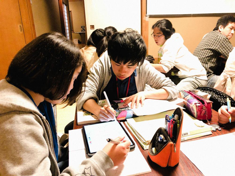 無料学習教室「地域の学び舎プラット」を支援