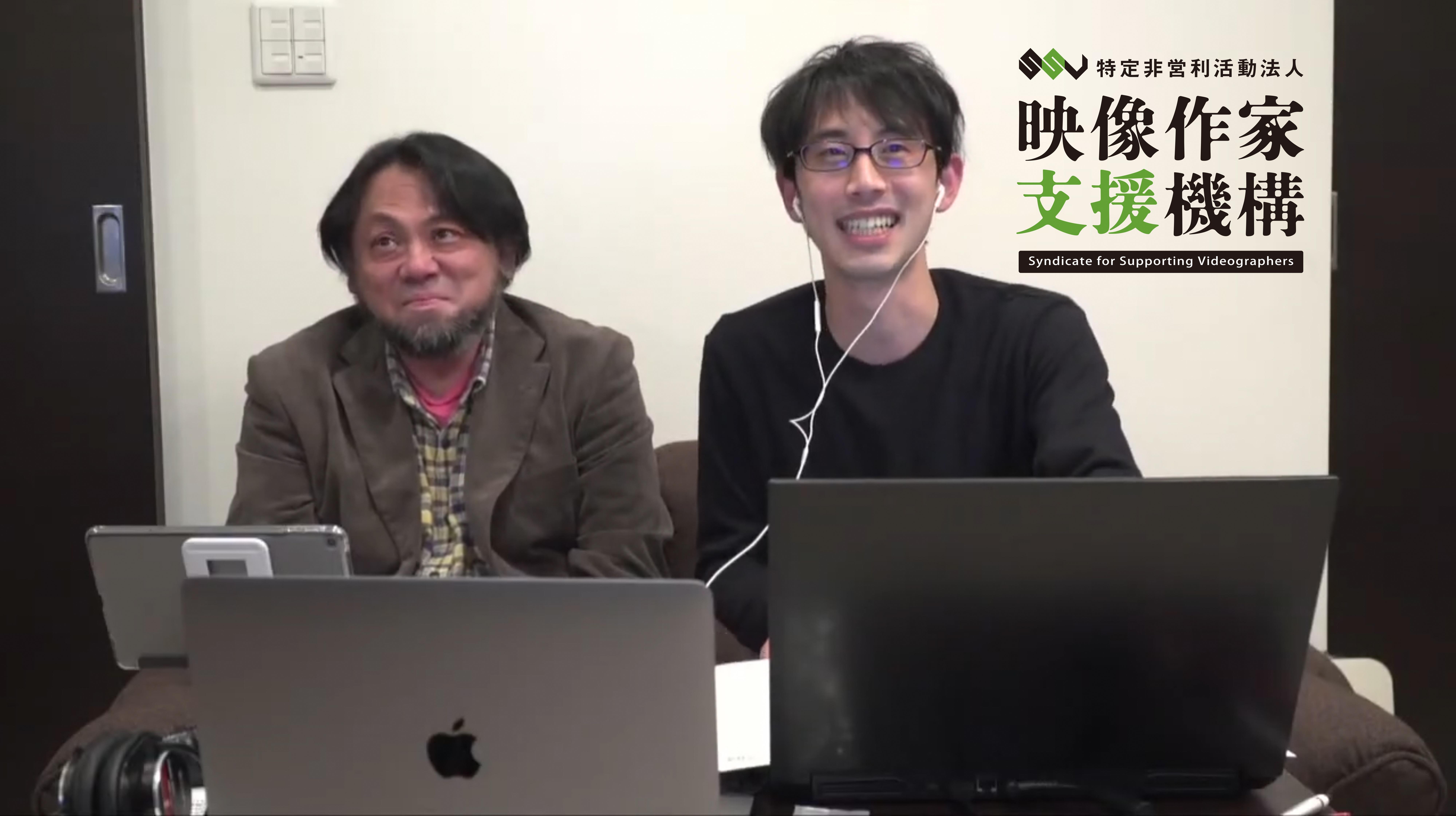 共同代表 (左:京兼顕 右:大西貴也)