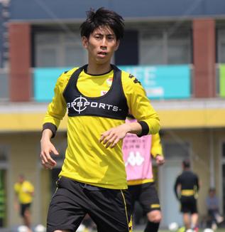 茶島雄介選手「バランスを意識してプレーしたい」
