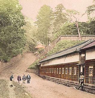 江戸の坂道(綱坂)
