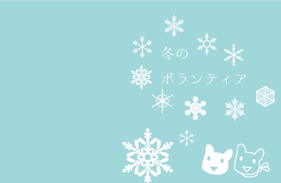 冬に出会おう、ボランティア!