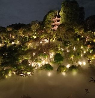 都心の庭園に雲海が!?/ホテル椿山荘東京で「東京雲海」企画開始