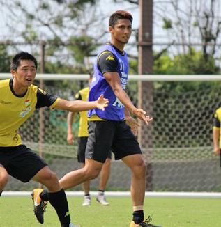 熊谷アンドリュー選手「相手の様子を見ながら、ゲームを作っていければいい」