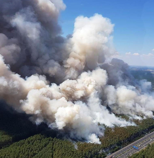 リスボンで46.3℃~~、ヨーロッパが燃えてる・・・灼熱で山火事相次ぐ