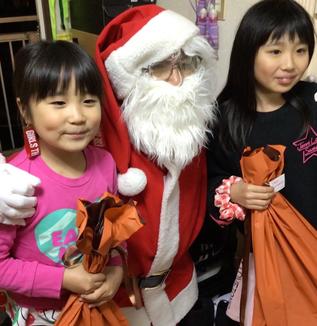 サンタさんのおかげで、再び笑顔に!