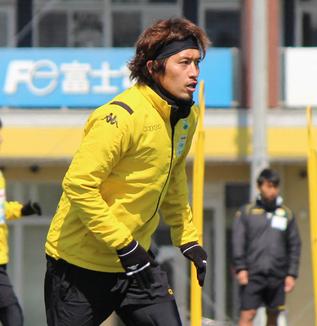 増嶋竜也選手「しっかりと守備をすればチャンスは来ると思うので、(失点を)ゼロに抑えたいなと思います」