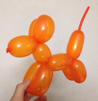 【バルーンアート】 基本のイヌ