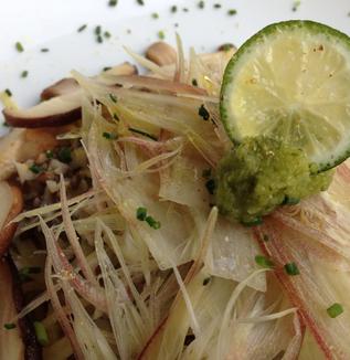 レシピ『椎茸とゆずごしょうのペペロンチーノ』(AW kitchen PREMIER 中村和正シェフ考案③)