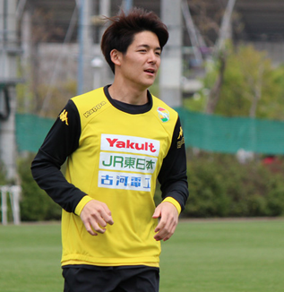 菅嶋弘希選手「普段やっているようなプレーをもっと出せるようにしたい」
