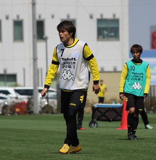 為田大貴選手「福岡と大分は古巣ですし、まあ、アウェイならなおさらねっていうのはあります」