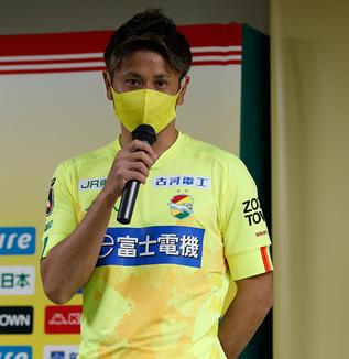 福満隆貴選手「もう1回、チーム全体としてやることを明確に、徹底して練習から取り組んでいるということが試合にも出ている」