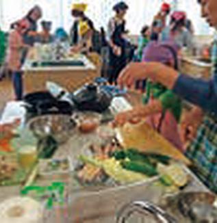 市場見学と親子お魚料理教室 実施報告