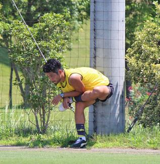 丹羽竜平選手「出たら必死にやるだけです。アシストしようとかそんなの考えていない。とりあえず勝てば本望なので」