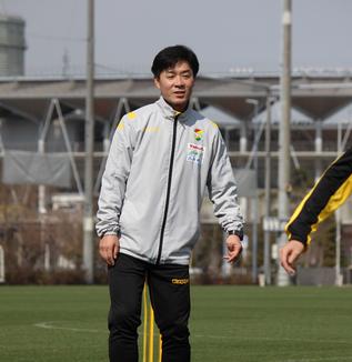 尹晶煥監督「明日の試合はいい準備をして、(勝利という)結果を持ってこられるように頑張ります」