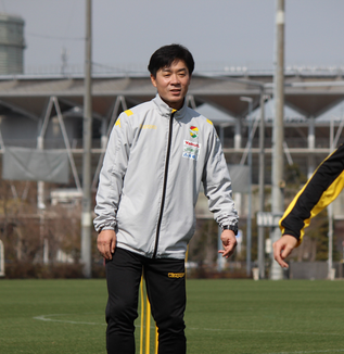 尹晶煥監督「全選手が前節の試合と同様に一致団結した試合を見せられるように準備をしています」