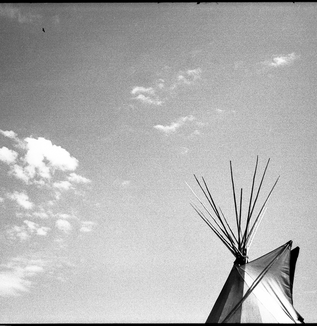 LISTEN TO THE WIND / PINE RIDGE RESERVATION - the forth chapter
