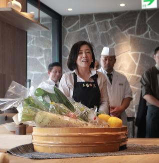 【神谷禎恵活動レポート】TALK&LUNCH「マダムゆずと楽しむ、日本の食文化と『ゆず』の魅力 2014/11/17①