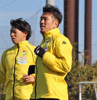 田坂祐介選手「まだ再開後にホームで勝っていないので、それに向けてみんなで一体感を持ってやっていこうという話はしています」