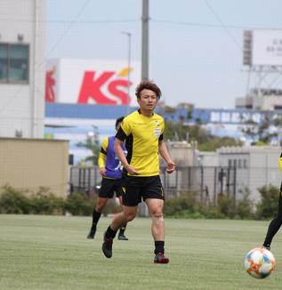 矢田旭選手「まだ1試合勝っただけなので、次も勝てるように頑張ります」