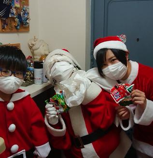 サンタさんの一つひとつの言葉が贈り物