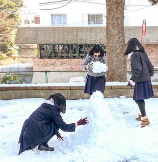 ご近所 茗荷谷界隈/文京雪景色