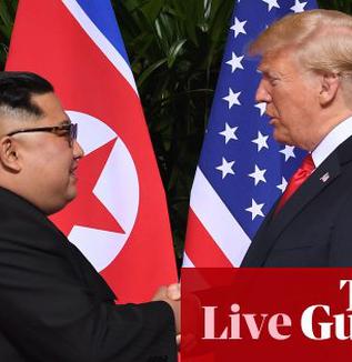 【シンガポール時事】トランプ米大統領、北朝鮮の金正恩朝鮮労働党委員長の単独会談、拡大会合の冒頭発言全文