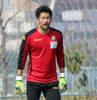 新井章太選手「サポーターの皆さんの前でしっかり勝ちきるという姿を続けて見せていきたい」