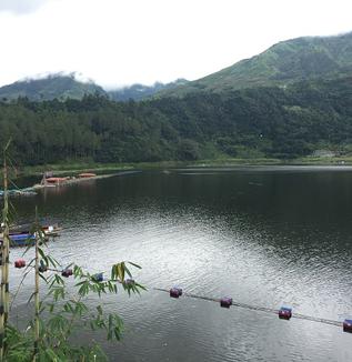 ウォノソボライフ(15) 一晩でできた湖?メンジェル湖をめぐる伝説(神道有子)