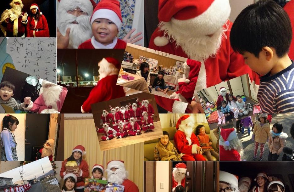 4851人の子どもたちの元に1625人のサンタクロースが訪問!ひとり親家庭や被災地のご家庭にも!