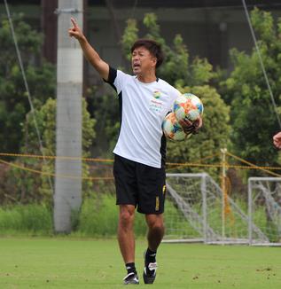 江尻篤彦監督「立ち上がりの入り方については、どのゲームも気をつけてやっていきたい」