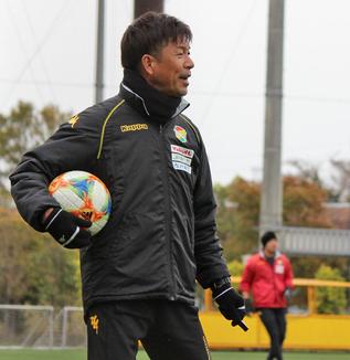【横浜FC戦直前レポート】江尻篤彦監督「岡山でできたことは継続して、ピッチに送り込みたいなと思います」