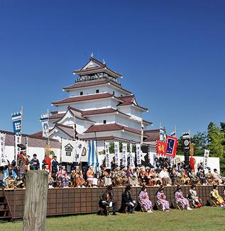 会津祭り会津藩公行列(2019年)