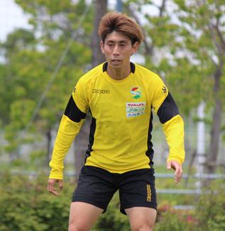 茶島雄介選手「逆サイドからのクロスボールとかにはしっかり頑張って入っていって、ゴールも狙えればいい」