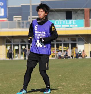 茶島雄介選手「どこでも出られるように準備したい」