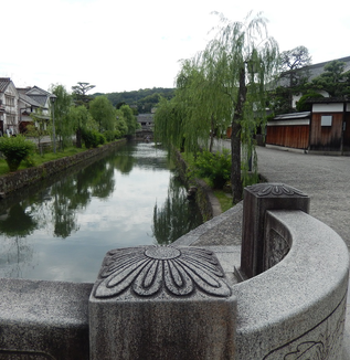 今日の倉敷美観地区散歩!