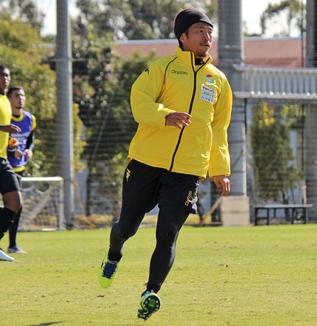 田坂祐介選手「もう残り1試合ですけど、(自分が)出る、出ないにかかわらずチームのために何かできるかなと思って、チームもそうだし、自分もベストな準備ができればいいと思う」