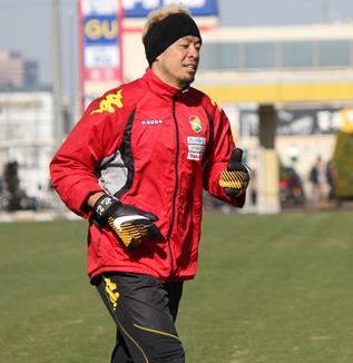 佐藤優也選手「チームスローガンはパシオン(情熱)、それに進化をプラスするみたいなことで、できればいい」