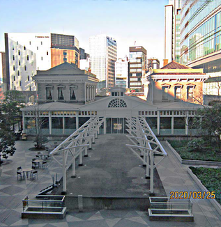 【幕末維新折々の記・十三】鉄道開業と新橋停車場