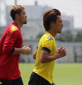 工藤浩平選手「雰囲気も大事だし、ポジティブな声をかけ合ったり、試合の流れを見てやっていきたい」