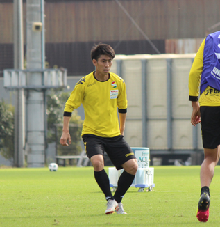 茶島雄介選手「どんどん仕掛けて突破していきたい」
